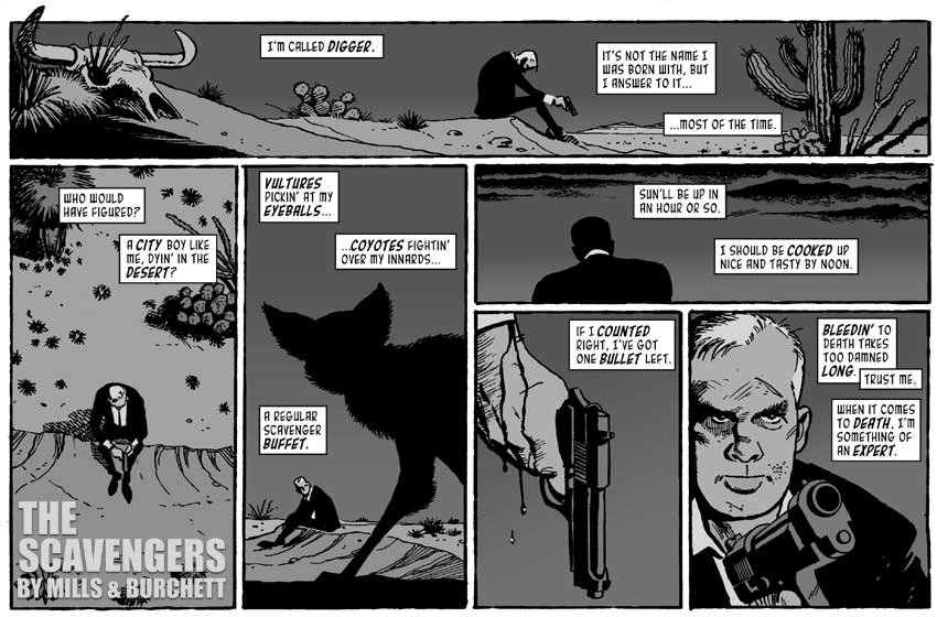 The Scavengers: Page One