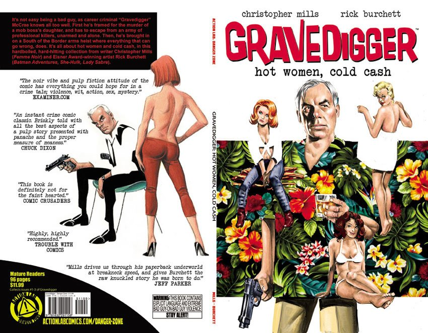GRAVEDIGGER Trade & Digital Editions